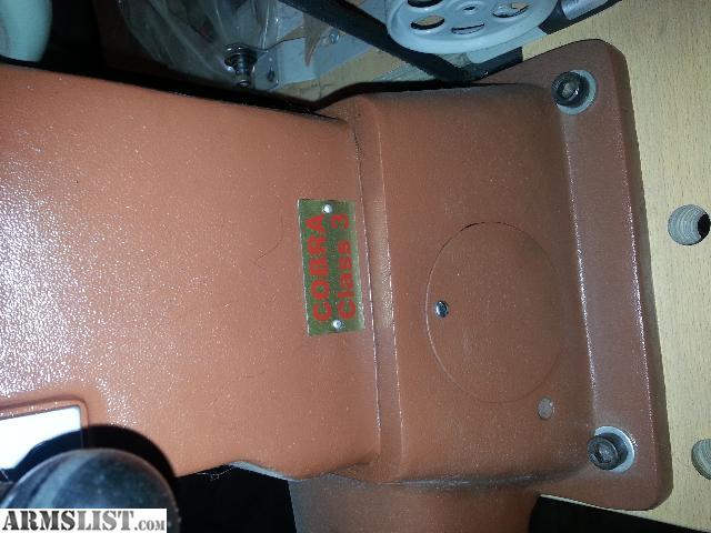 cobra leather sewing machine used