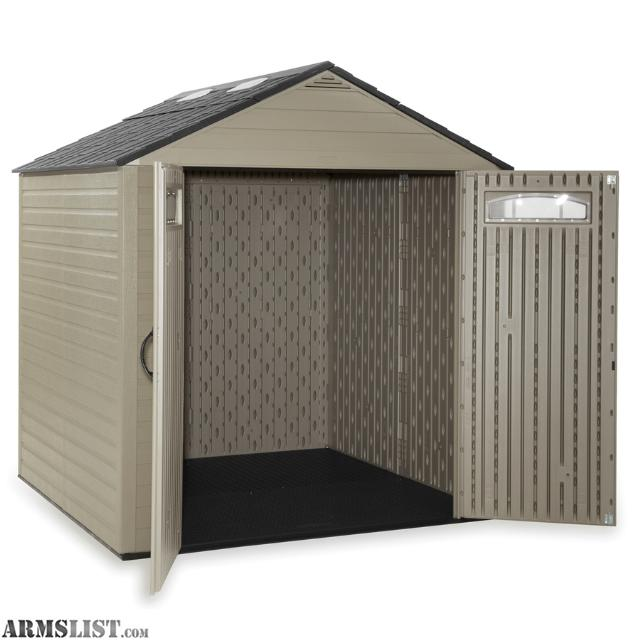 price drop 350 up for sale is a rubbermaid roughneck 725ft x 72ft gable storage shed shed is was used for about 6 months and due to