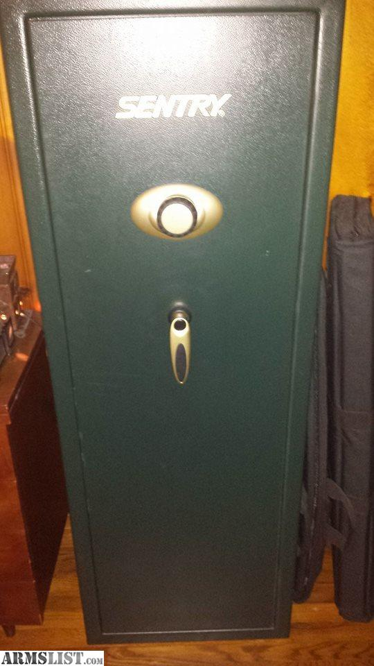 ARMSLIST - For Trade: 14 Gun Sentry Gun Safe Model # G5241-1