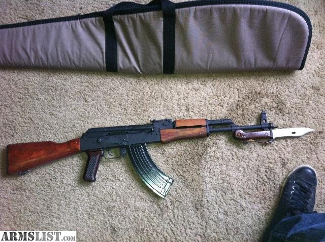 Armslist for sale ak47 with wood furniture and bayonet Ak 47 wooden furniture