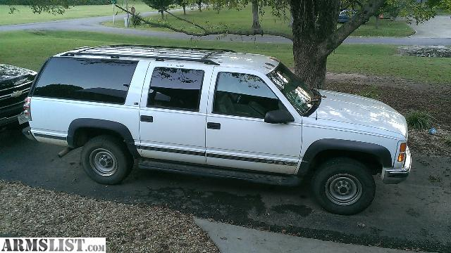 armslist for sale trade 98 2500 3 4 ton 4x4 suburban with 454 trade for guns. Black Bedroom Furniture Sets. Home Design Ideas