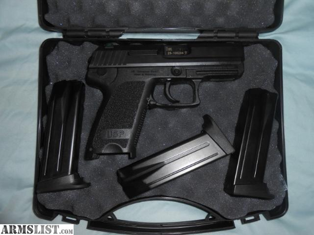 ARMSLIST - For Sale: HK USP Compact .40 LEM w/ Night Sights