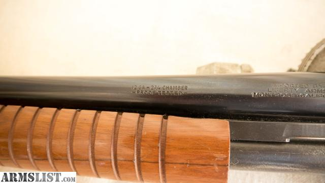 Armslist for sale liberty wing 12ga pump shotgun for Liberty home protection