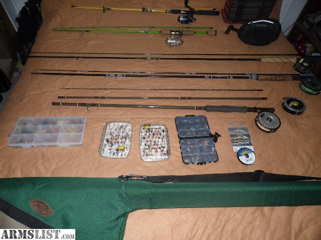 Armslist for sale trade fly fishing equipment for Fishing equipment for sale