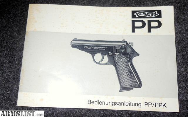 pp walther manual daily instruction manual guides u2022 rh testingwordpress co Walther PPK 380 Stainless James Bond with Walther PPK S