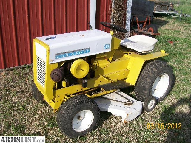 Armslist For Sale Ih Cub Garden Tractor