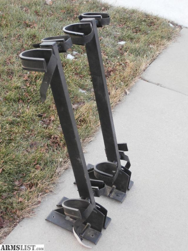 Armslist For Sale 2 Rugged Gear Floor Mount Gun Racks