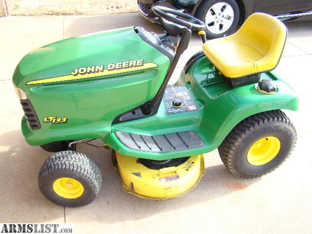 Armslist For Sale John Deere Lt133 Lawn Tractor Mower