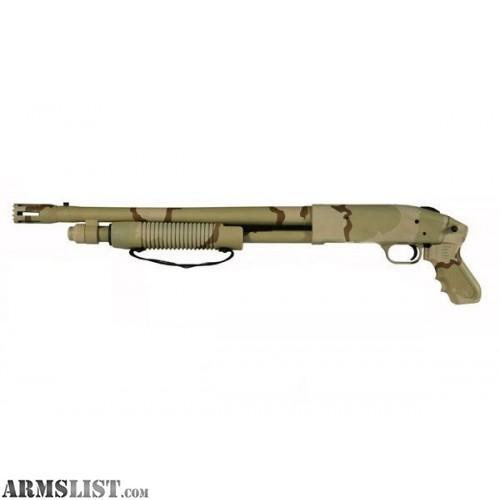 Armslist for sale trade mossberg 500 jic chainsaw sandstorm for 12 gauge door buster