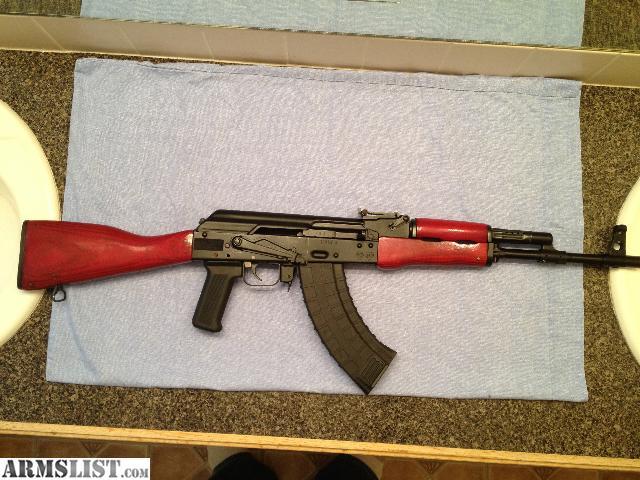 For Sale Trade  Saiga AK 47  RED Furniture. ARMSLIST   For Sale Trade  Saiga AK 47  RED Furniture