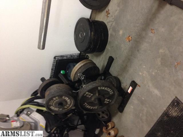 Armslist for sale garage gym set up