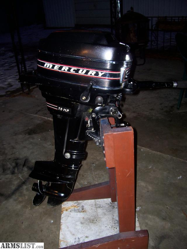 Armslist for sale trade mercury 7 5hp outboard motor for 5hp outboard motor for sale