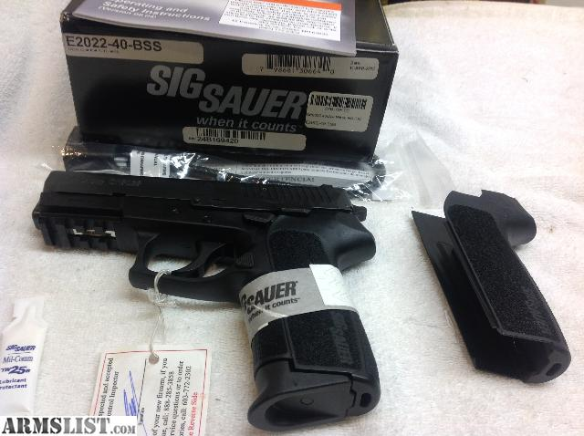 ARMSLIST - For Sale: Sig Sauer E2022-40 BSS Pistol, New In Box