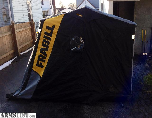 Armslist for sale trade frabill trekker dlx deluxe ice for Frabill ice fishing suit