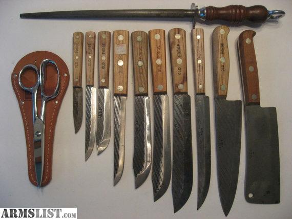 For Sale 10 Piece CASE XX Knife Set