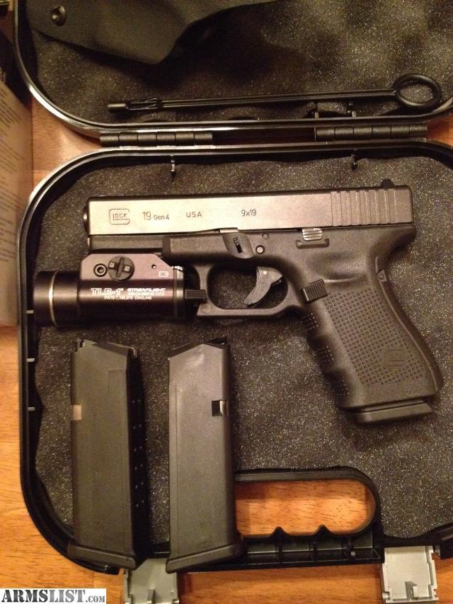 ARMSLIST - For Sale/Trade: New Glock 19 Gen 4, Tac Light ...