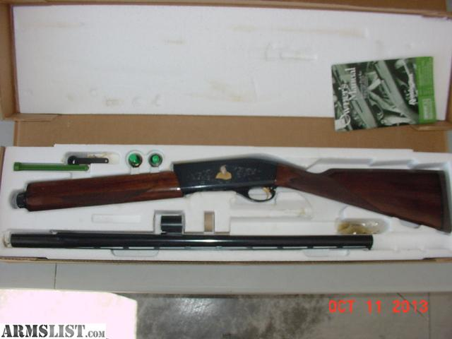 armslist for sale trade remington 12 ga 1100 auto sam walton. Black Bedroom Furniture Sets. Home Design Ideas