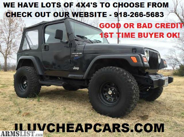 Jeep Wrangler For Sale Tulsa