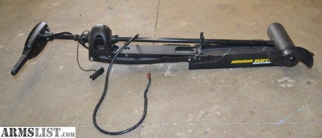 armslist for sale minn kota maxxum 74 h trolling motor