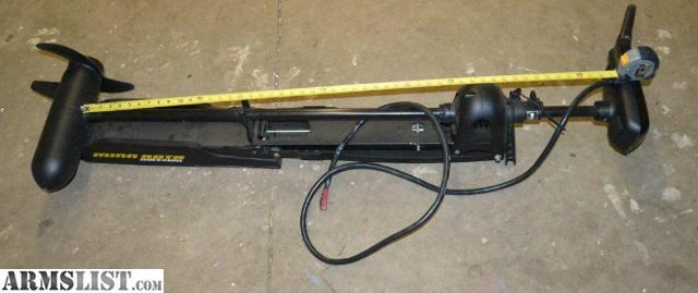 Armslist for sale minn kota maxxum 74 h trolling motor for Minn kota foot control trolling motor