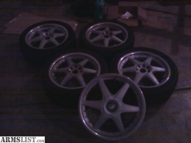 armslist for sale trade 17 inch 4 lug universal rims tires cheap. Black Bedroom Furniture Sets. Home Design Ideas