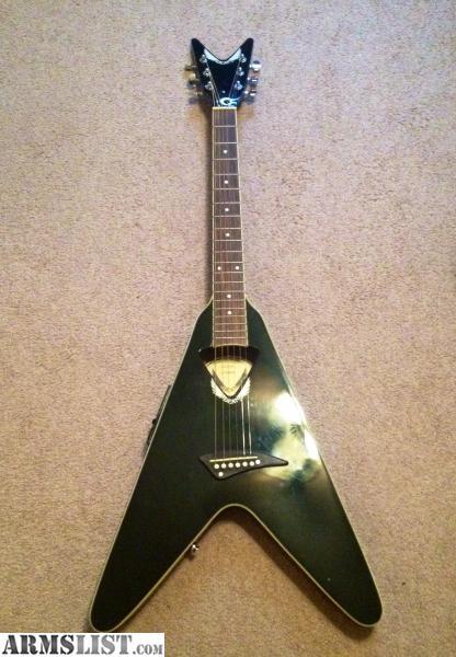ARMSLIST - For Sale: Dean Flying-V Acoustic Electric Guitar
