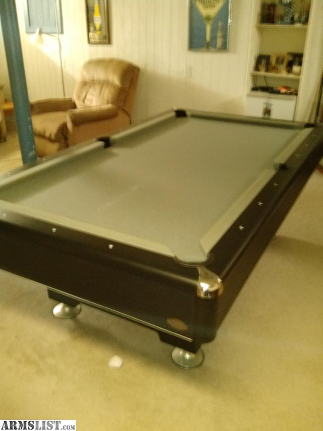 Armslist for sale or trade 3 piece slate pool table for 1 piece slate pool table