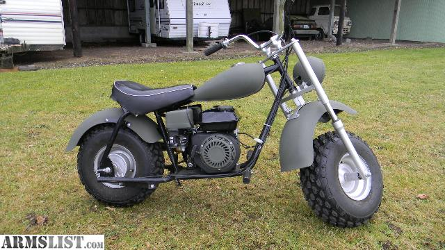Armslist For Sale Baja Mini Bike Restored And Repainted In