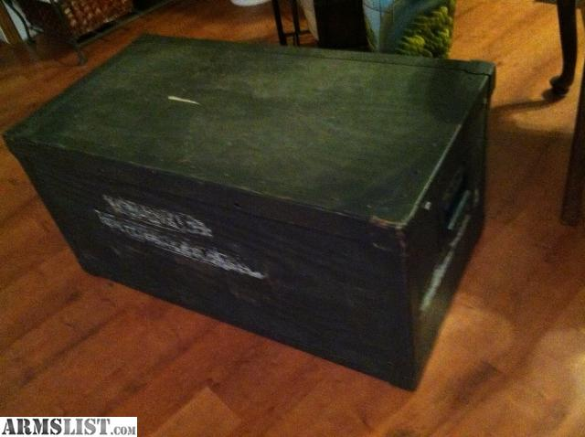 I would like to sell or trade my military surplus trunk or storage box... its @ the same size as the old foot lockers but doesnu0027t have hinges or a tray. & ARMSLIST - For Sale/Trade: Military Surplus Trunk Storage Box
