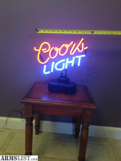Man Cave Decor For Sale : Armslist for sale trade coors light man cave decor
