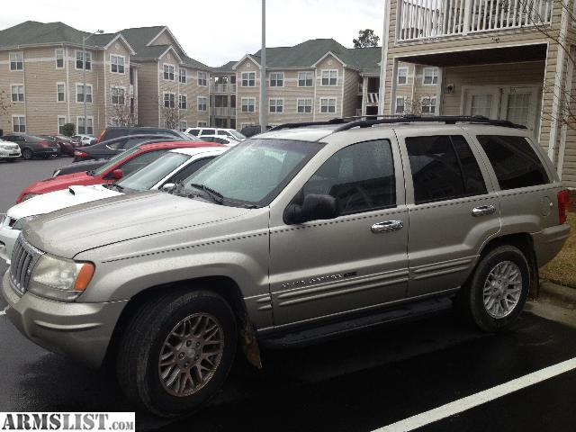 armslist for sale trade 2004 jeep grand cherokee limited v8 4x4. Black Bedroom Furniture Sets. Home Design Ideas
