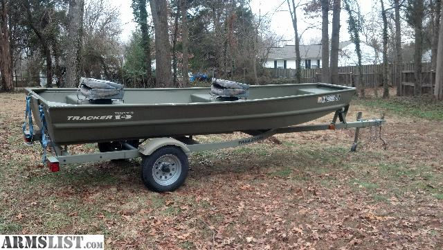 Armslist For Sale Trade 14 Jon Boat W Trailer And