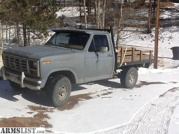 armslist for sale 1980 ford f 150 flatbed 4x4 1981 Ford Truck 4x4 1987 Ford Truck 4x4