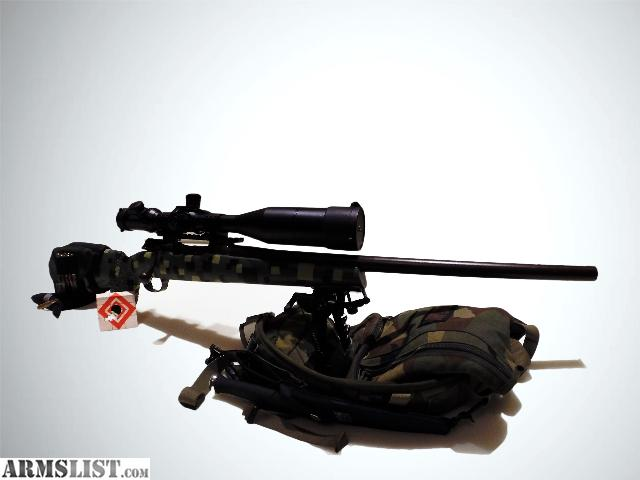 how to build a long range shooting rifle