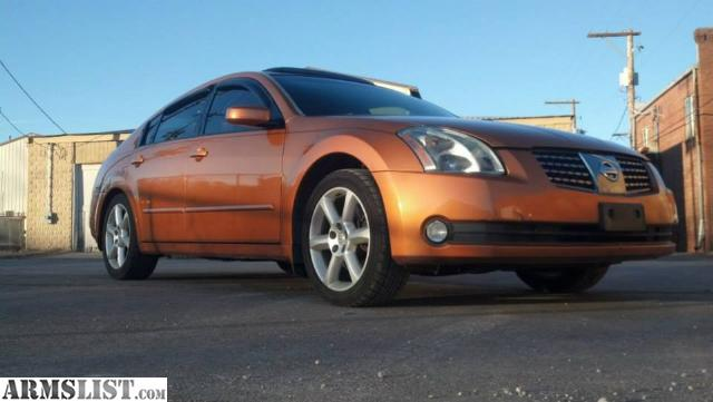 armslist for sale trade 2004 nissan maxima loaded sell or trade for guns. Black Bedroom Furniture Sets. Home Design Ideas