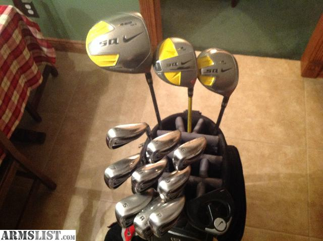 complete set of nike golf clubs