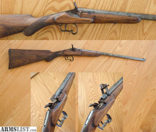 For Sale: Belgium .22 (or 6mm) Flobert Rifle