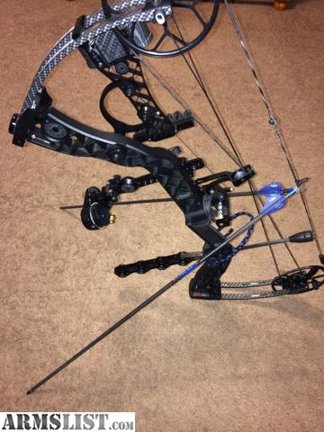Mathews Creed Tactical Totally on Blue And Black Mathews Creed