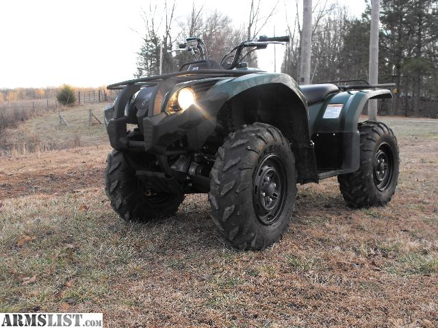 Armslist for sale trade 2012 yamaha grizzly 450 4x4 for Yamaha grizzly 450 for sale