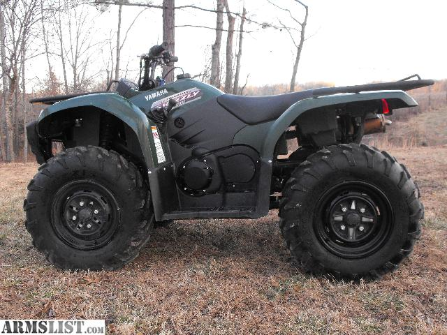 Armslist for sale trade 2012 yamaha grizzly 450 4x4 for 2014 yamaha grizzly 450 value