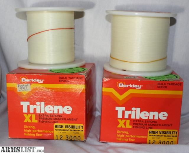 Armslist for sale large lot of 12 14lb trilene fishing line for Fishing line for sale