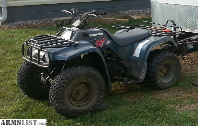 armslist for sale 1996 kawasaki bayou 220 2x4 atv. Black Bedroom Furniture Sets. Home Design Ideas
