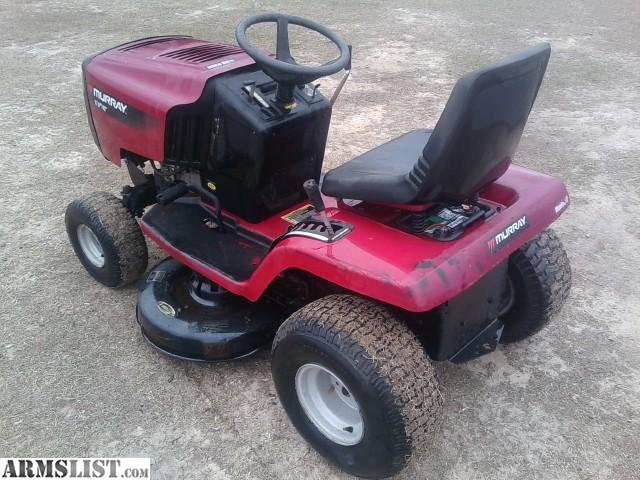 Murray Lawn Mowers Battery : Armslist for sale murray riding mower