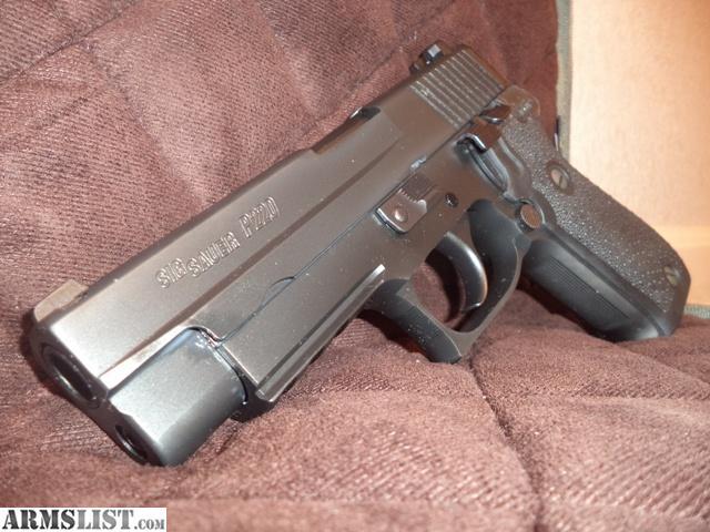 Armslist For Sale Lnib Sig Sauer P220 Stainless Nitron