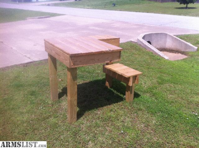 Armslist For Sale Shooting Bench Treated Lumber