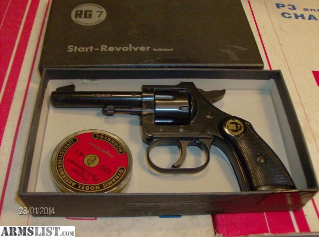 c1960s Italian RTS Starter Pistol Revolver by ThirdFloorRetro