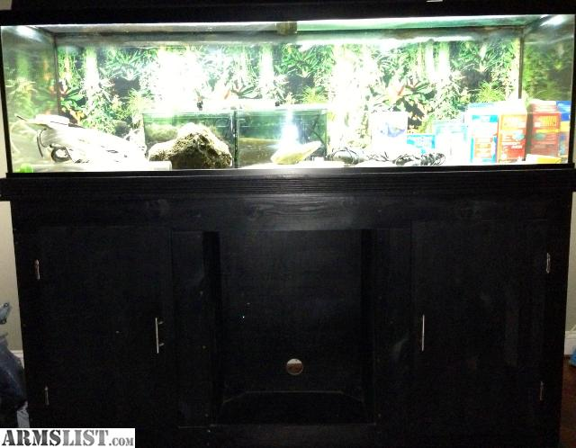 Armslist for sale 125 gallon fish tank with everything for Amazon fish tanks for sale
