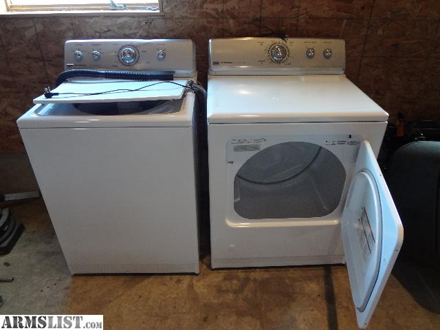how to open top of maytag centennial dryer