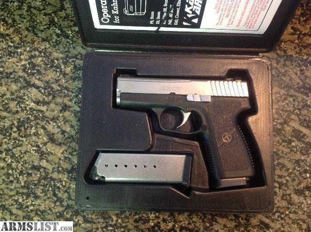 ARMSLIST - For Sale/Trade: As new in box Kahr P9 with night
