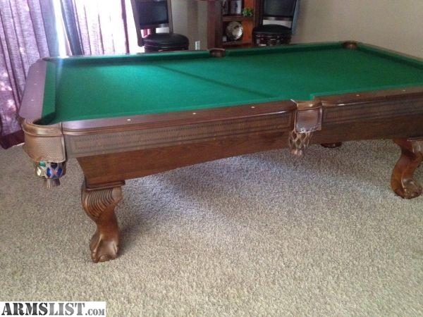 ARMSLIST For Sale Pool table bud light light ku table cover